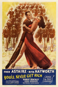 """You'll Never Get Rich (Columbia, 1941). One Sheet (27"""" X 41"""") Style B"""