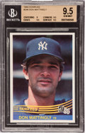 Baseball Cards:Singles (1970-Now), 1984 Donruss Don Mattingly #248 Beckett Gem Mint 9.5. ...
