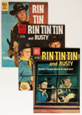 Silver Age (1956-1969):Adventure, Rin Tin Tin and Rusty Group (Dell, 1958-60).... (Total: 10 Comic Books)