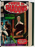Bronze Age (1970-1979):Horror, Tower of Shadows #1-9 and Others Bound Volume (Marvel, 1969-74)....