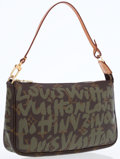 Luxury Accessories:Bags, Louis Vuitton by Stephen Sprouse Limited Edition GraffitiCollection Pochette Bag. ...