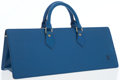 Luxury Accessories:Bags, Louis Vuitton Blue Epi Leather Sac Triangle Bag. ...
