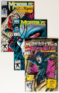 Modern Age (1980-Present):Horror, Morbius: The Living Vampire #1-8 and 10 Group (Marvel, 1992-93)Condition: Average NM.... (Total: 90 Comic Books)
