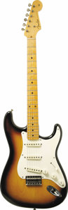 "Musical Instruments:Electric Guitars, 1958 Fender Stratocaster ""Hardtail."" Serial number 024571. Anexceptionally clean example of the rare hardtail style Stratoc...(Total: 1 Item)"