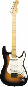 Musical Instruments:Electric Guitars, 1956 Fender Stratocaster. Serial number 09286. This guitar isfeatured in the book History of American Guitars (p.73)an... (Total: 1 Item)