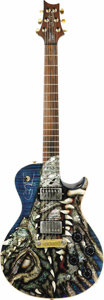 Musical Instruments:Electric Guitars, Carlos Santana's 2002 PRS Dragon. Serial number 27201. An excellentexample of precision and elegance by its maker, Paul Ree... (Total:1 Item)