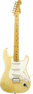 "Musical Instruments:Electric Guitars, 1956 Fender Stratocaster ""See Thru Blonde."" Serial number 15294.One of the most rare and sought after custom color Stratoca...(Total: 1 Item)"