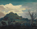 Texas:Early Texas Art - Regionalists, JOHN ORTH (1889-1976). Taxco, Mexico. Oil on masonite.16-1/2 x 21 inches (41.9 x 53.3 cm). Signed lower right. ...