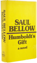 Books:Signed Editions, Saul Bellow: Signed First Edition of Humboldt's Gift (New York: The Viking Press, 1975), first edition, 487 pages, yello... (Total: 1 Item)
