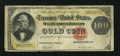 Large Size:Gold Certificates, Fr. 1210 $100 1882 Gold Certificate Very Good....