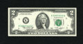 Error Notes:Ink Smears, Fr. 1935-K $2 1976 Federal Reserve Note. Choice CrispUncirculated.. ...