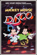 "Movie Posters:Animation, Mickey Mouse Disco & Other Lot (Buena Vista, 1980). One Sheets (2) (27"" X 41"") Regular & Advance. Animation.. ... (Total: 2 Items)"