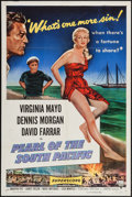 "Movie Posters:Adventure, Pearl of the South Pacific (RKO, 1955). One Sheet (27"" X 41"").Adventure.. ..."