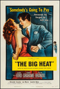 "Movie Posters:Film Noir, The Big Heat (Columbia, 1953). One Sheet (27"" X 41""). Film Noir....."