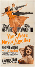 """Movie Posters:Musical, You Were Never Lovelier (Columbia, R-1949). Three Sheet (41"""" X 80""""). Musical.. ..."""