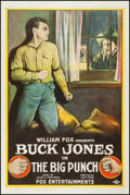 "Movie Posters:Western, The Big Punch (Fox Film Corporation, 1921). One Sheet (27"" X 41"").Western.. ..."