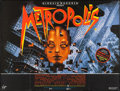"Movie Posters:Science Fiction, Metropolis (PSO, R-1984). British Quad (30"" X 40""). Science Fiction.. ..."