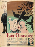 """Movie Posters:Hitchcock, The Birds (Universal International, 1963). French Grande (47"""" X63""""). Hitchcock.. ..."""