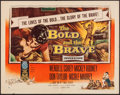 """Movie Posters:War, The Bold and the Brave (RKO, 1956). Half Sheet (22"""" X 28"""") &Insert (14"""" X 36"""") Style B. War.. ... (Total: 2 Items)"""