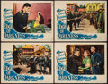 """Movie Posters:War, Edge of Darkness (Warner Brothers, 1943). Lobby Cards (4) (11"""" X14""""). War.. ... (Total: 4 Items)"""