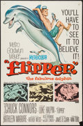 "Movie Posters:Adventure, Flipper & Other Lot (MGM, 1963). One Sheets (2) (27"" X 41"").Adventure.. ... (Total: 2 Items)"