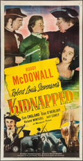 "Movie Posters:Adventure, Kidnapped (Monogram, 1948). Three Sheet (41"" X 79""). Adventure....."