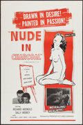 "Movie Posters:Sexploitation, Nude in Charcoal (Premier Pictures, 1961). One Sheet (27"" X 41"").Sexploitation.. ..."