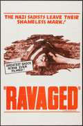 "Movie Posters:Documentary, After Mein Kampf (Joseph Brenner Associates, R-1964). One Sheet (27"" X 41"") Alternate Title: Ravaged. Documentary.. ..."