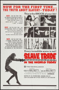 "Movie Posters:Documentary, There are Still Slaves in the World (Continental, R-1965). One Sheet (27"" X 41"") Alternate Title: Slave Trade in the World..."