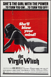 "The Virgin Witch (Joseph Brenner Associates, 1972). One Sheet (27"" X 41""). Horror"