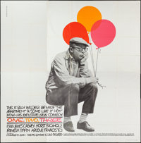 """One, Two, Three (United Artists, 1962). Six Sheet (79"""" X 79""""). Comedy"""