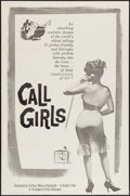 "Movie Posters:Exploitation, Call Girls (President Films, R-1959) One Sheet (27"" X 41"").Exploitation.. ..."