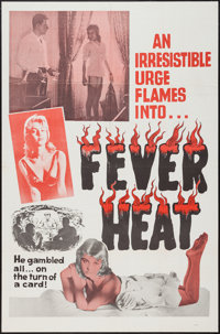 """Fever Heat (Unknown, 1960s). One Sheet (27"""" X 41""""). Adult"""
