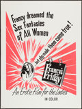 "Movie Posters:Sexploitation, Francy's Friday and Other Lot (LPR, 1972). One Sheets (2) (27"" X41""), and (30"" X 40""). Sexploitation.. ... (Total: 2 Items)"