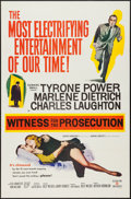 "Movie Posters:Mystery, Witness for the Prosecution (United Artists, 1958). One Sheet (27""X 41""). Mystery.. ..."
