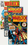 Modern Age (1980-Present):Superhero, Warlock-Related Box Lot (Marvel, 1982-93) Condition: Average NM....(Total: 2 Box Lots)
