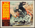 "Movie Posters:Science Fiction, Gorgo (MGM, 1961). Half Sheet (22"" X 28""). Science Fiction.. ..."