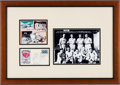 Autographs:Military Figures, [World War II]. First Day Cover Signed By Enola Gay Crew Members....