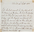 Military & Patriotic:Revolutionary War, Lord Jeffrey Amherst Third-Person Autograph Letter Signed....