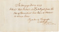 Autographs:Statesmen, Henry Laurens Document Signed...