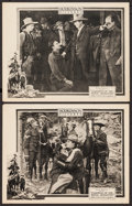 """Movie Posters:Action, Cameron of the Royal Mounted (Hodkinson Pictures, 1921). LobbyCards (2) (11"""" X 14""""). Action.. ... (Total: 2 Items)"""