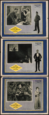 """The Little Church Around the Corner (Warner Brothers, 1923). Lobby Cards (3) (11"""" X 14""""). Drama. ... (Total: 3..."""