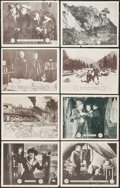 "Movie Posters:Serial, A Lass of the Lumberlands (Mutual, 1916). Lobby Cards (8) (11"" X 14"") Chapter 11 -- ""The Ace High Looses,"" Chapter 12 -- ""Th... (Total: 8 Items)"