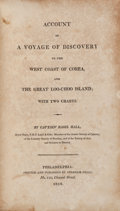 Books:Travels & Voyages, Basil Hall. Account of a Voyage of Discovery to the West Coast of Corea and the Great Loo-Choo Island. ...