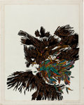 Books:Original Art, [Jerzy Kosinski], Leo and Diane Dillon. The Painted Bird.[N.p., n.d., ca. 1965]. Original Artwork. Approximatel...