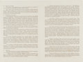 Miscellaneous:Ephemera, [Martin Luther King, Jr.]. Abstract of a Dissertation....