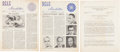 Miscellaneous:Ephemera, [Southern Christian Leadership Conference]. Two Newsletters and OneReport for 1961... (Total: 3 )
