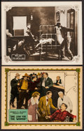 """Movie Posters:Western, One Law for the Woman & Other Lot (Vitagraph, 1924). Lobby Cards (2) (11"""" X 14""""). Western.. ... (Total: 2 Items)"""