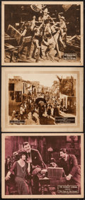 "Movie Posters:Action, Scarlet Streak & Others Lot (Universal, 1925). Lobby Cards (3)(11"" X 14"") Chapter 1 --""The Face in the Crowd."" Serial.. ...(Total: 3 Items)"