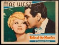 """Movie Posters:Comedy, Belle of the Nineties (Paramount, 1934). Trimmed Lobby Card (10.75"""" X 14""""). Comedy.. ..."""